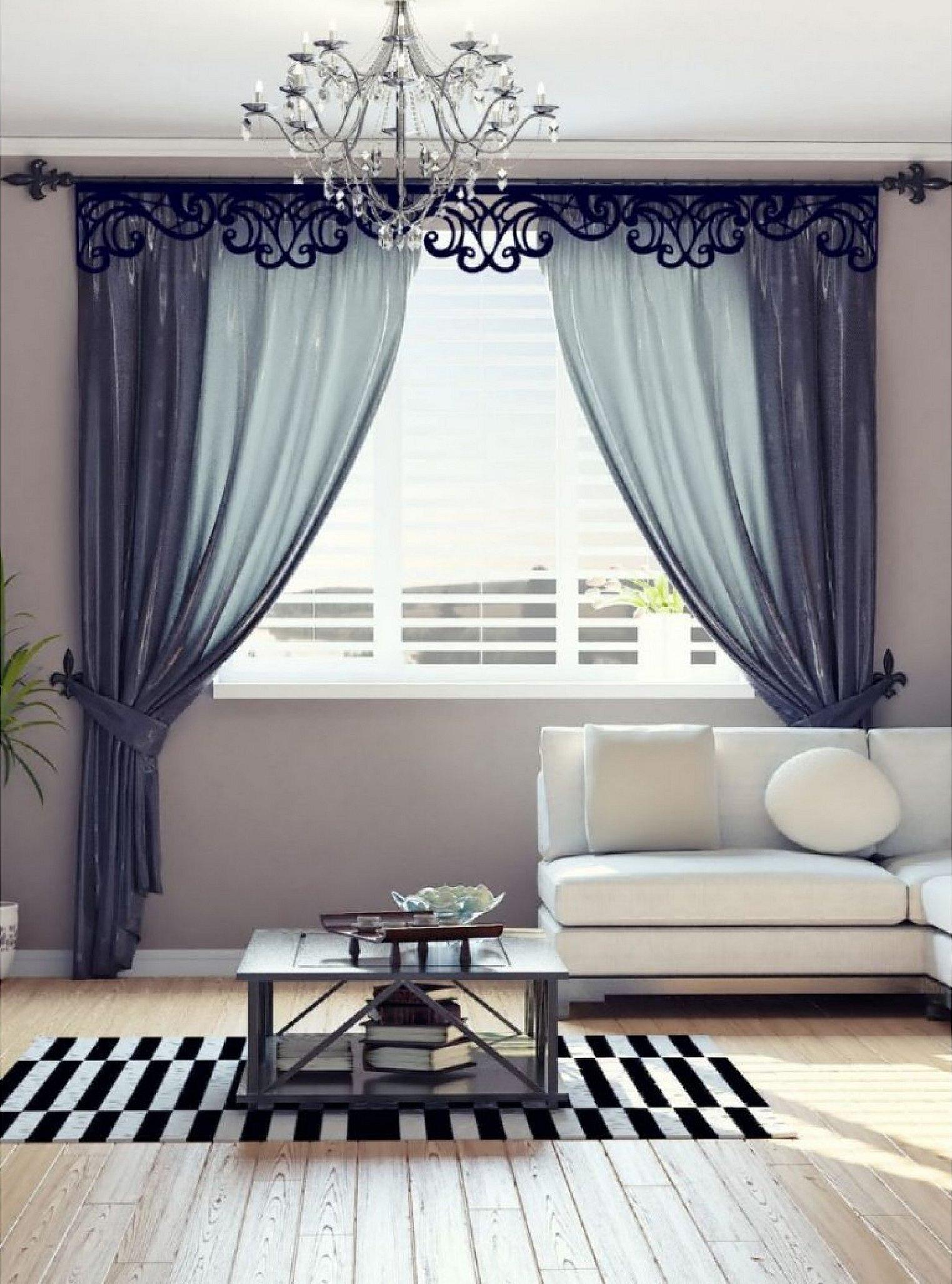 Современный дизайн штор