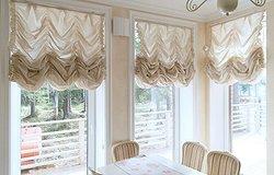 Французские шторы: фото роскошных интерьеров