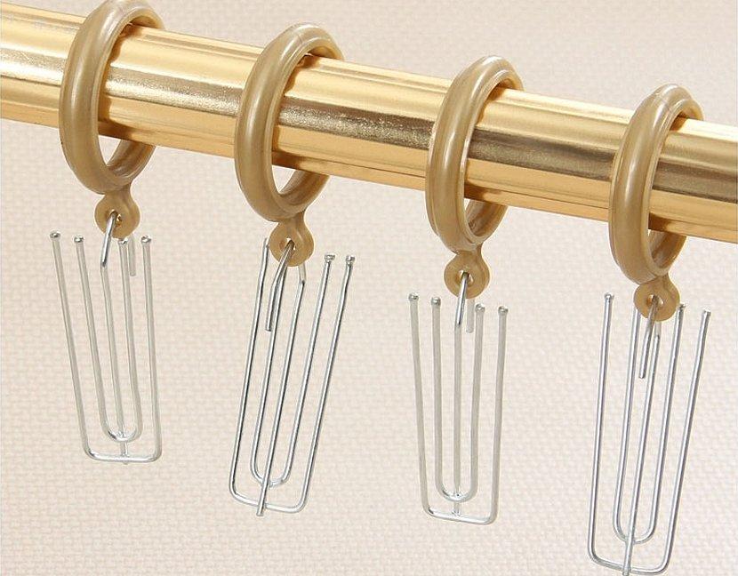 Карнизы для штор настенные металлические