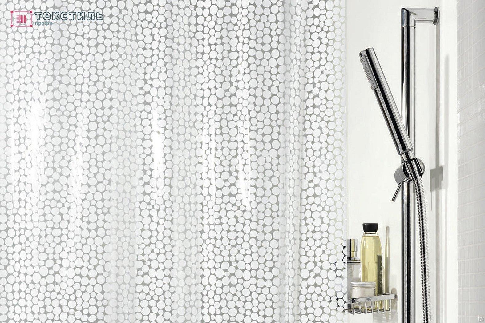 Штора для ванной комнаты spirella etna galet