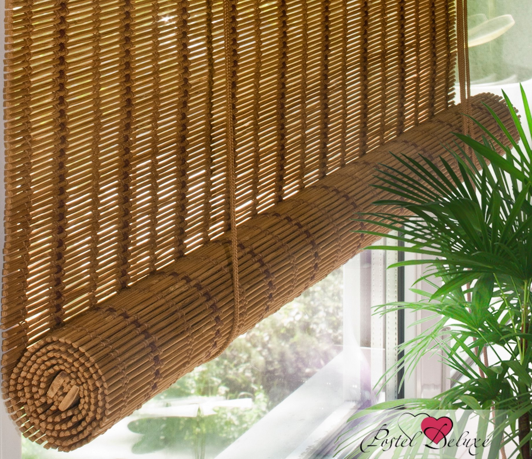 Бамбуковые жалюзи в интерьере