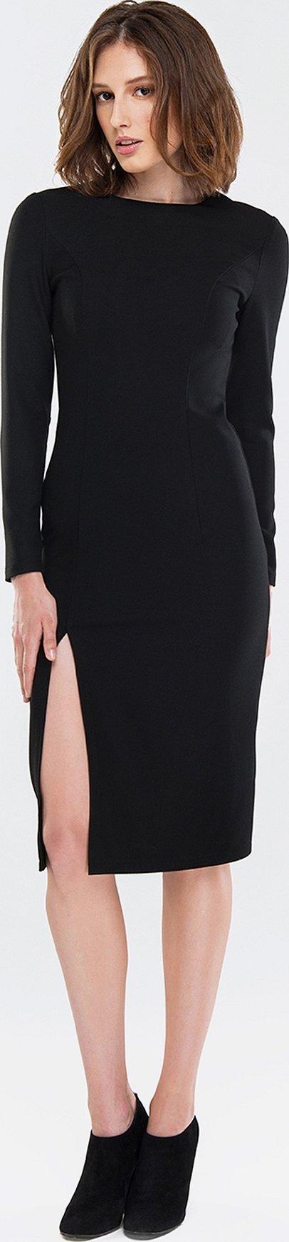 Платье черное olga skazkina
