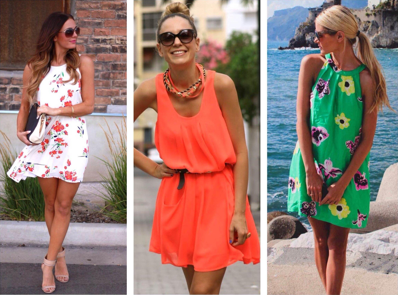 Летние платья для отдыха на море