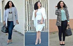 Как одеваться полным женщинам — простые советы от стилистов