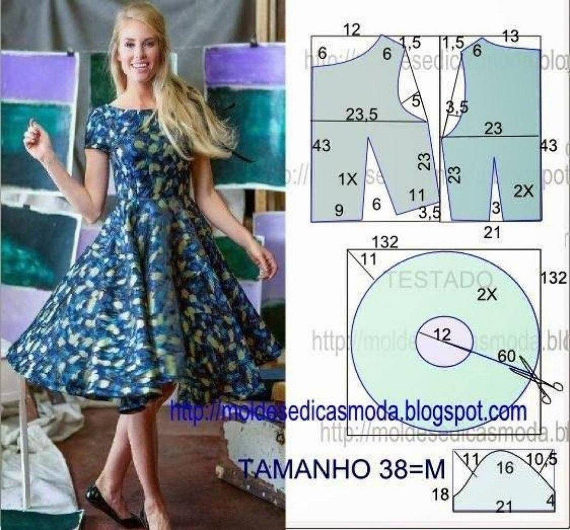 Dicas moda выкройки платья летние
