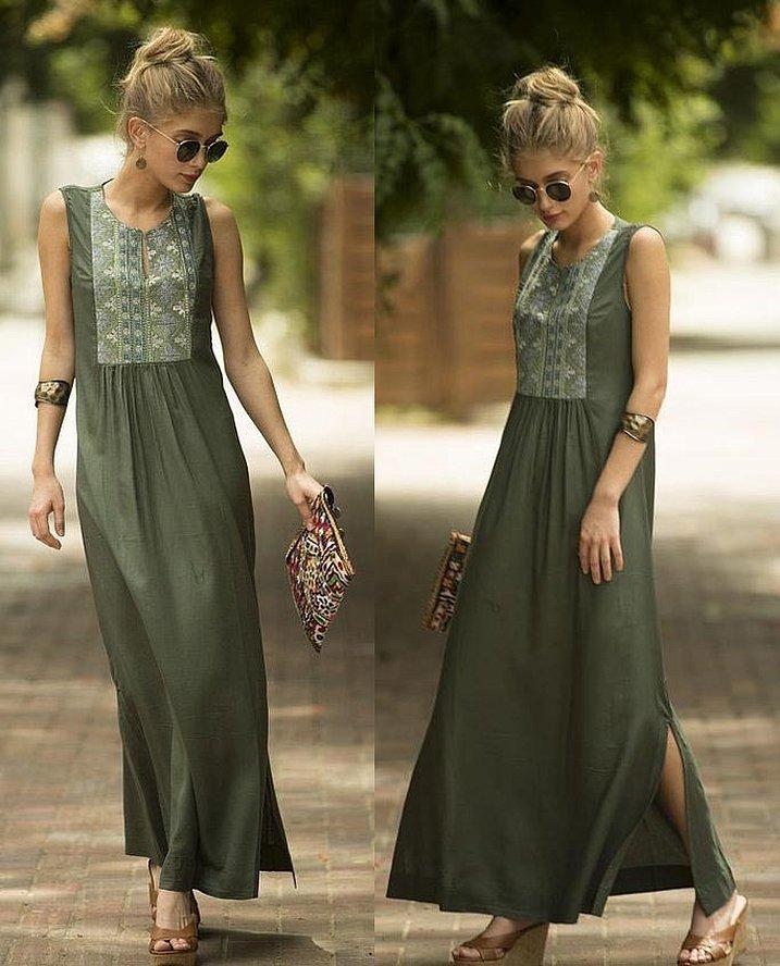 Платья в стиле бохо для полных