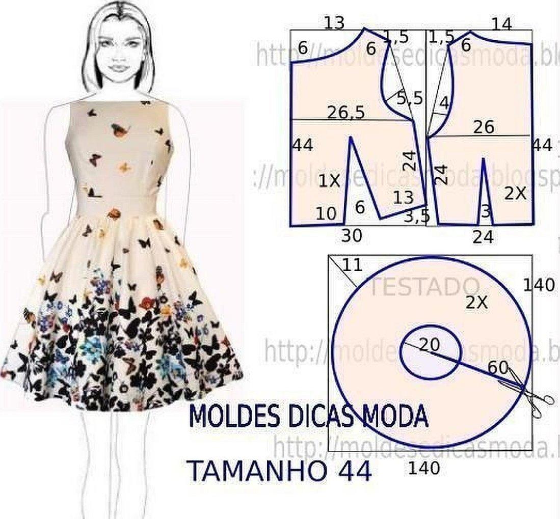 Выкройки платьев в стиле винтаж