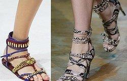 Какие модели сандалий будут в тренде летом