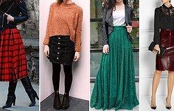 Модные юбки в осеннем гардеробе