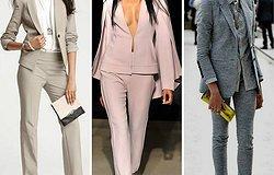 Модные женские брючные костюмы: Что выбрать, чтобы выглядеть стильно