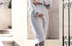Платье макси: удачные сочетания на эту осень