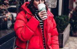 Пора утепляться: модные пуховики на зиму