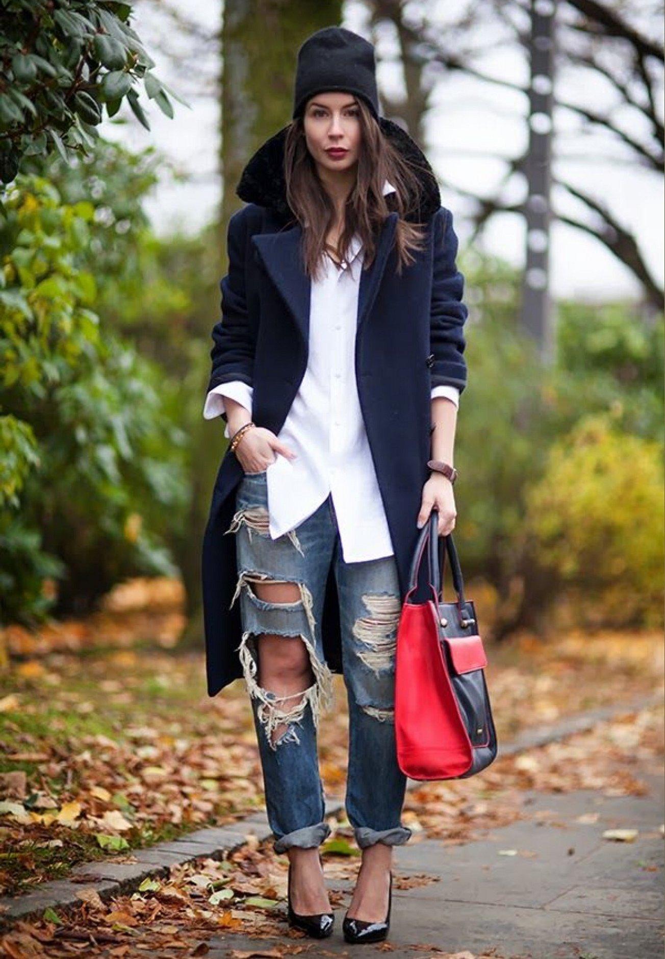 Осенний стиль одежды