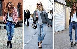 С чем не стоит носить джинсы-бойфренды, запрещенные и лучшие сочетания