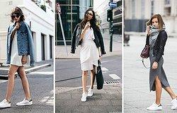 С чем носить кеды в этом сезоне: модные образы на каждый день и праздник