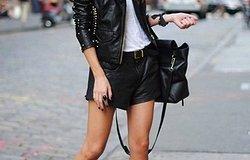 Самые стильные модели кожаных курток
