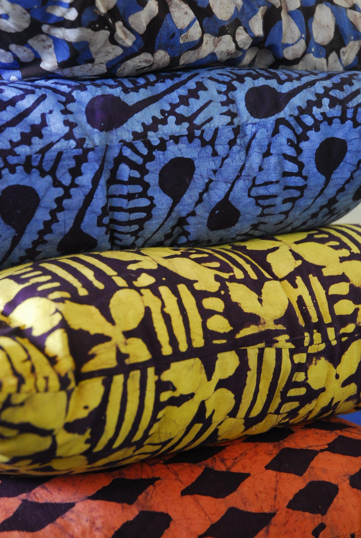 Африканский принт ткани
