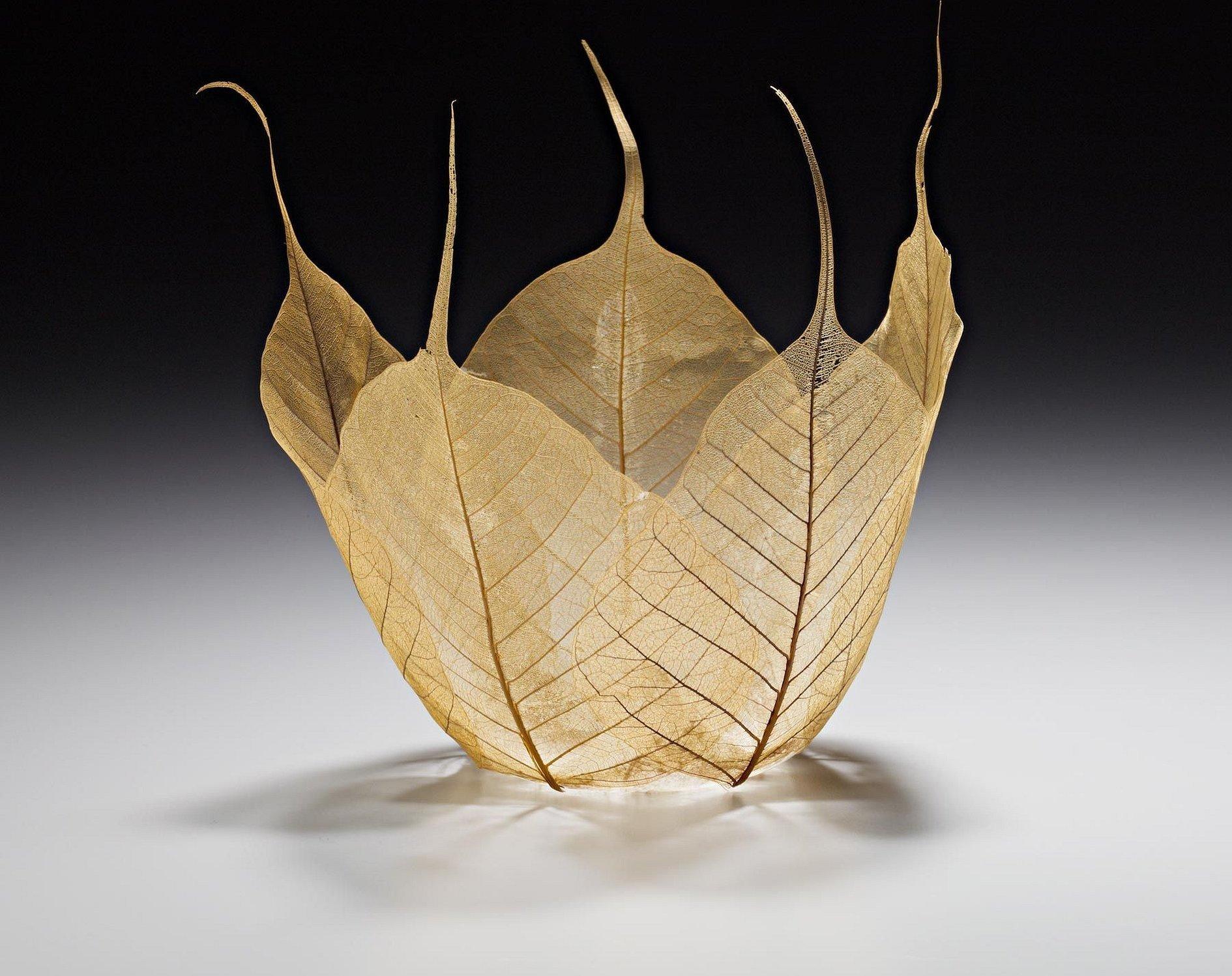 Скелетирование листьев украшения