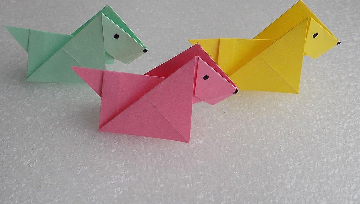 Из бумаги оригами для детей