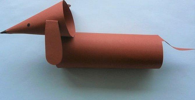 Простые поделки из бумаги для детей