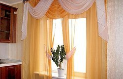 Как сшить шторы для кухни своими руками?