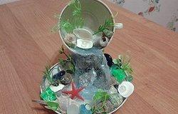 Парящая чашка с цветами или кофе своими руками