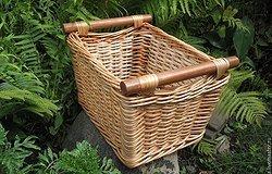 Как делается плетение корзин из лозы?