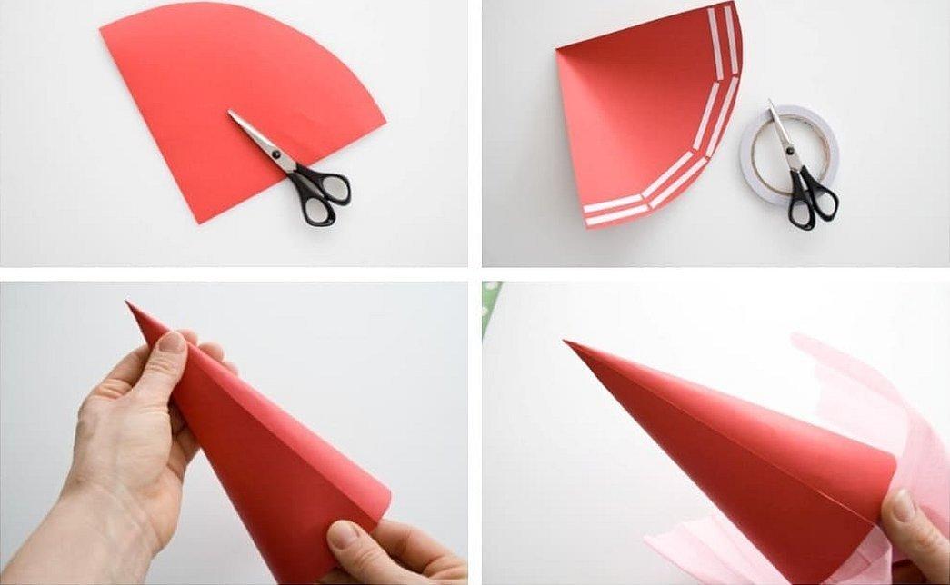 Кулечек из бумаги для конфет