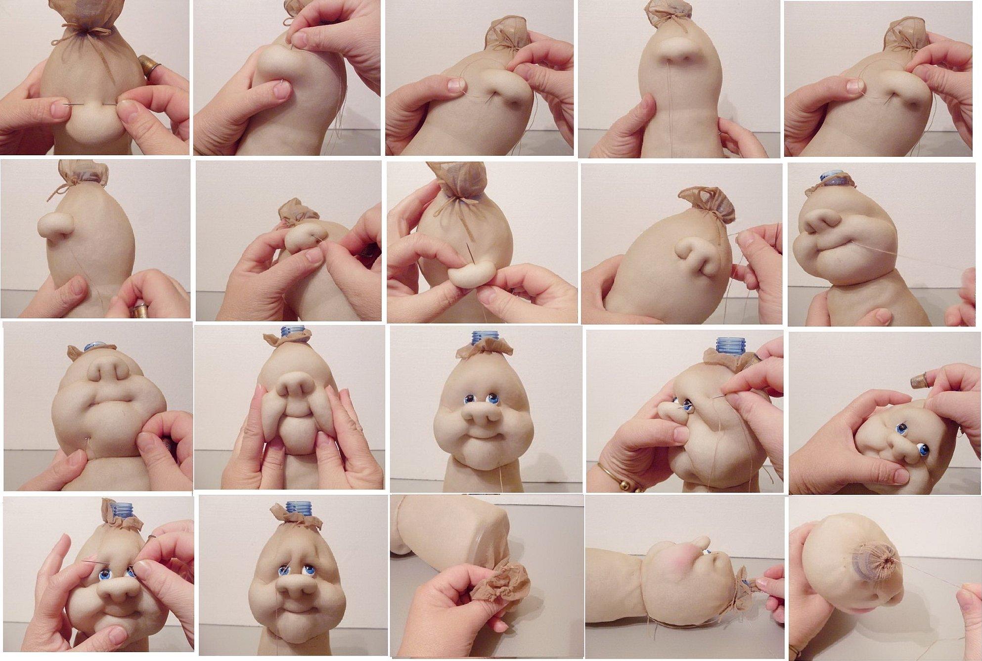 Куклы из капроновых колготок мастер класс для начинающих