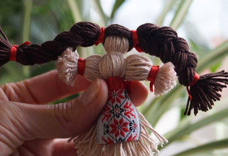 Кукла оберег мотанка из ниток
