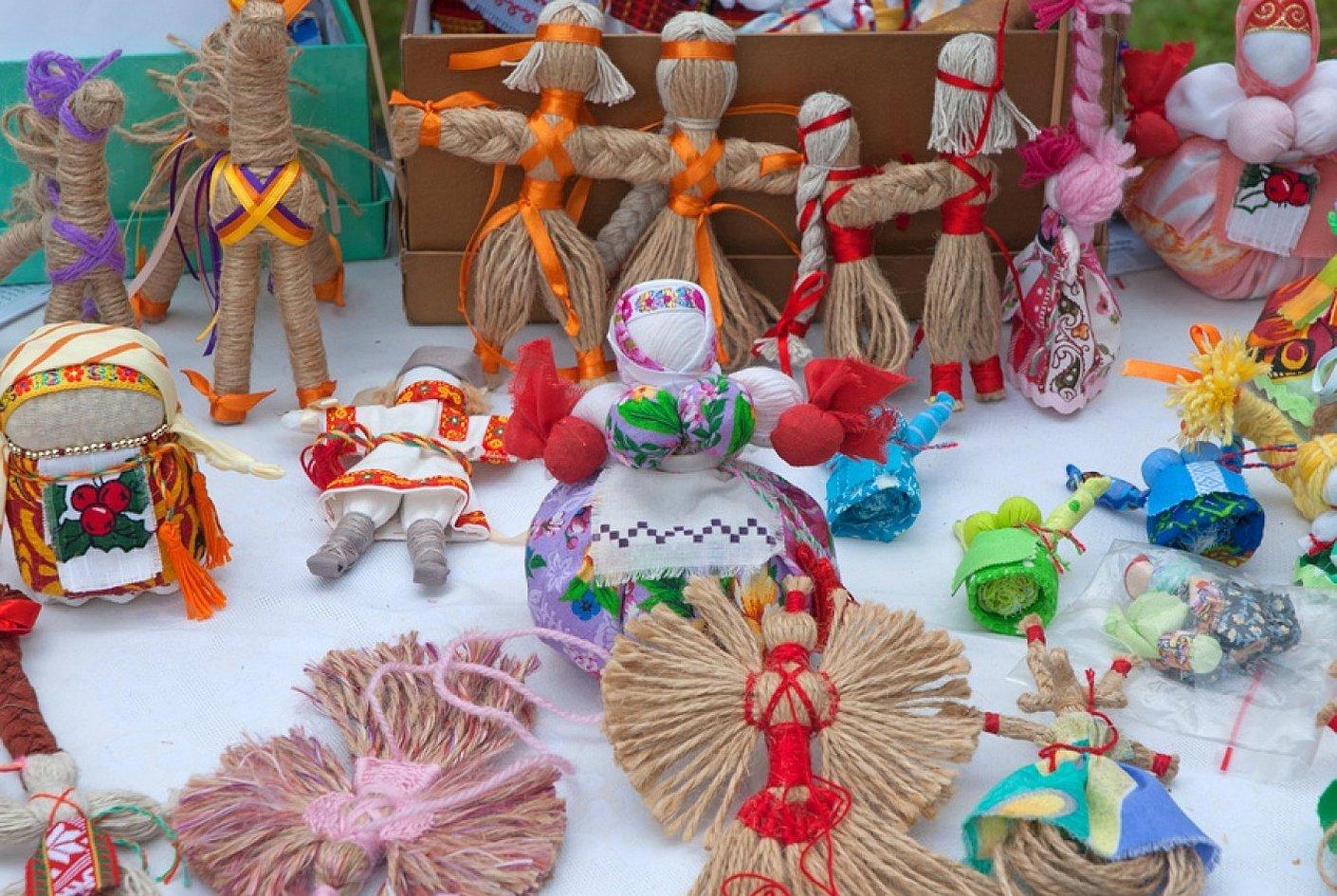 Куклы обереги на руси