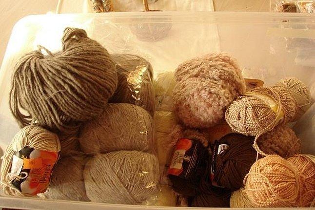 Нитки отходы для вязания шерсть