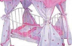 Как сделать красивую кровать для куклы?