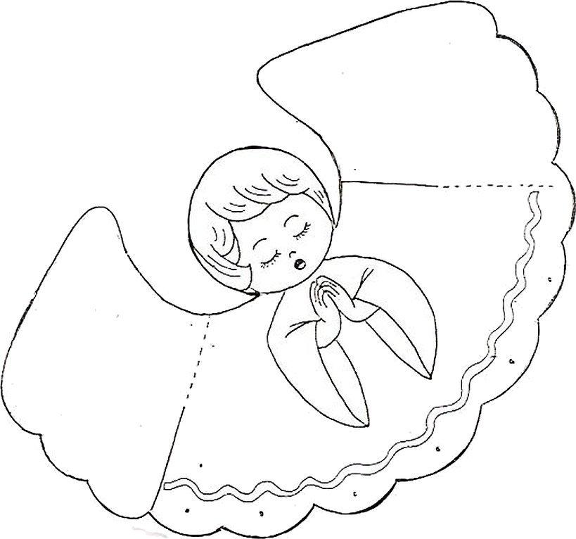 Ангелочки из бумаги своими руками шаблоны
