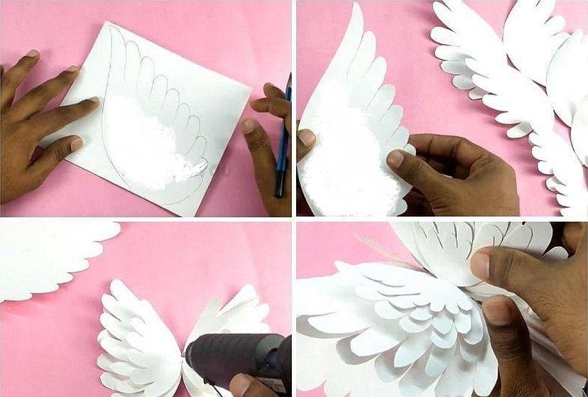 Голубь своими руками из бумаги