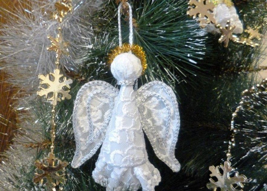 Рождественский ангел своими руками мастер класс