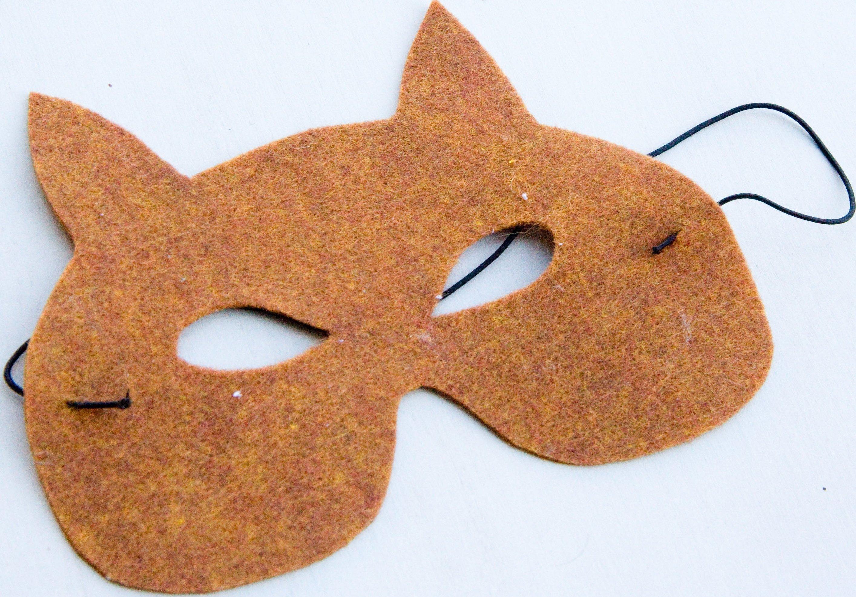 Карнавальная маска своими руками шаблон