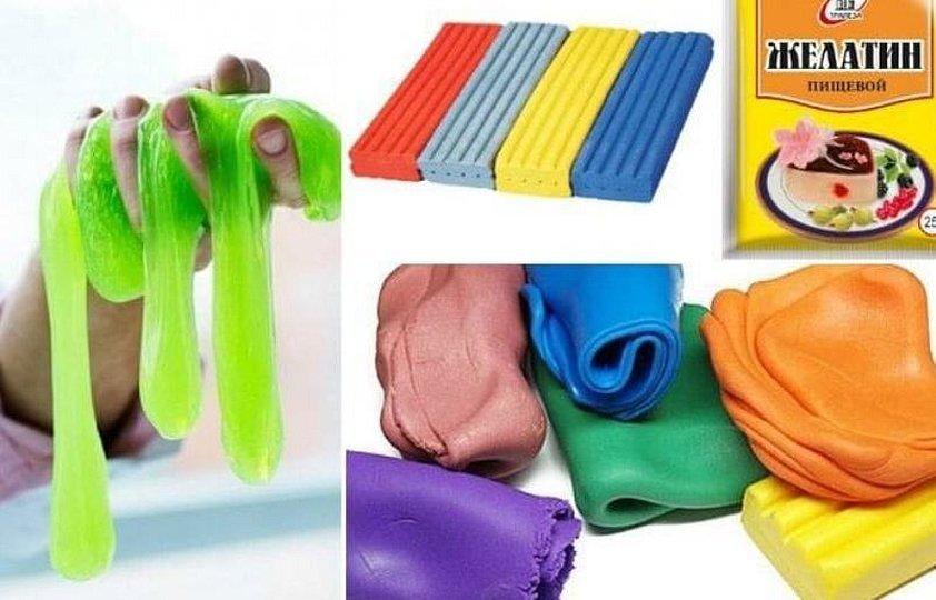 Разноцветная полимерная глина