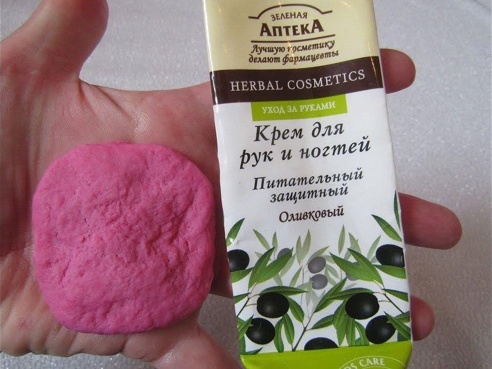 Зеленая аптека крем для рук и ногтей оливковый