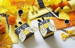 Пчелка своими руками: как сделать игрушку для детского сада из бумаги, фетра