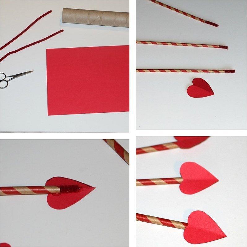 Поделка ракета из цветной бумаги