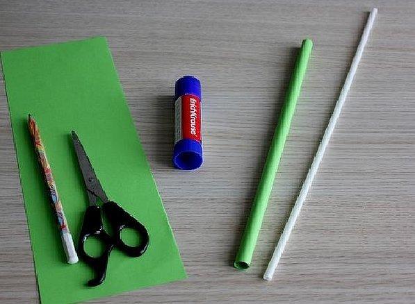 Поделки из бумаги с клеем и ножницами