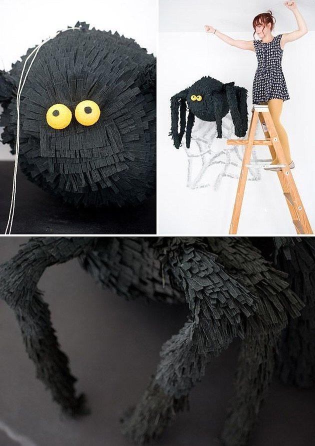 Пиньята на хэллоуин паук