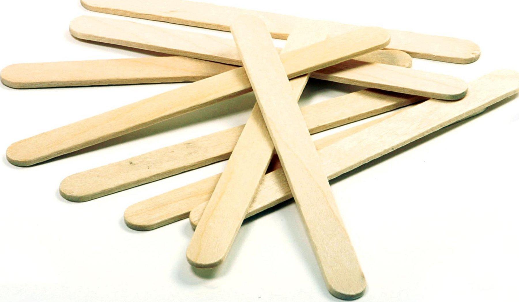 Деревянные палочки от эскимо мороженое