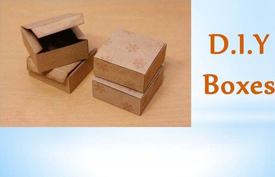 Коробка крафт прямоугольная