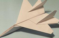 Как сделать истребитель из бумаги (схема и инструкция)?
