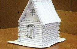 Как сделать дом из бумаги своими руками?