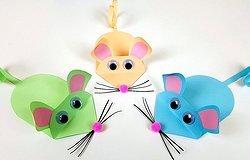 Как сделать мышку из бумаги своими руками поэтапные мастер классы