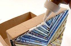 Как украсить коробку своими руками?