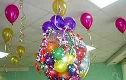 Как сделать шар-сюрприз на день рождения?